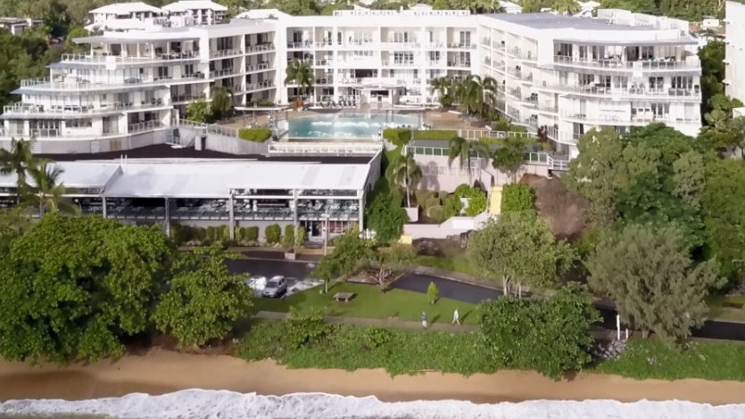 Aerial Vue Trinity Beach Cairns Luxury Apartments